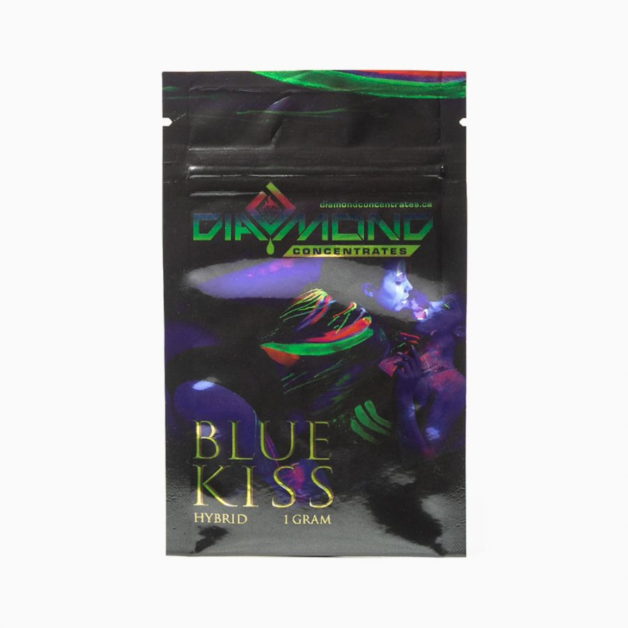 Diamond Concentrates Shatter 1g Blue Kiss