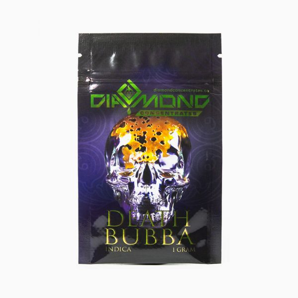 Diamond Concentrates Shatter 1g Death Bubba