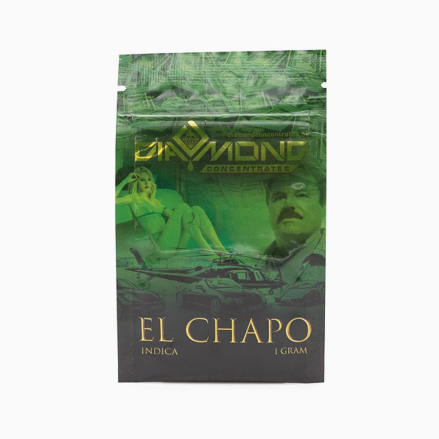Diamond Concentrates Shatter 1g El Chapo