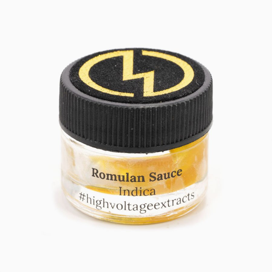 High Voltage Sauce Romulan Indica