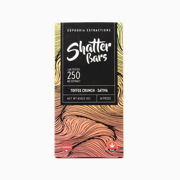 Shatter Bar 500mg – Sativa Toffee