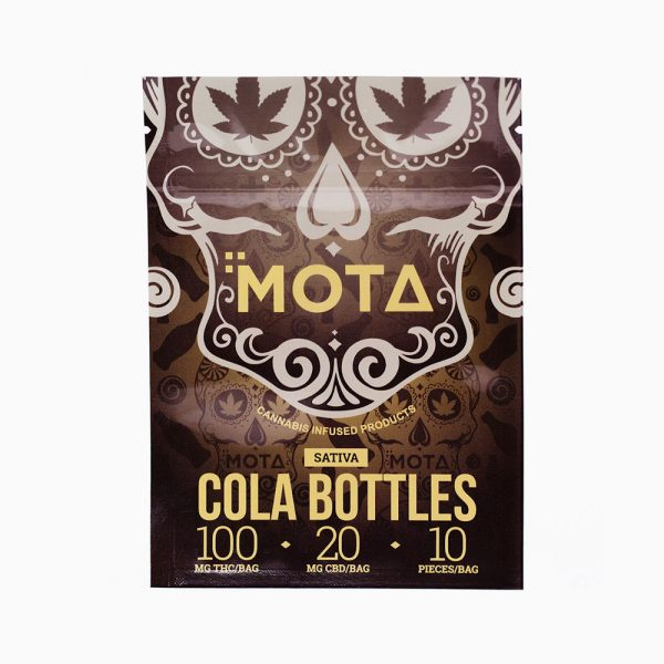 Mota Sativa Cola Bottles 100mg THC