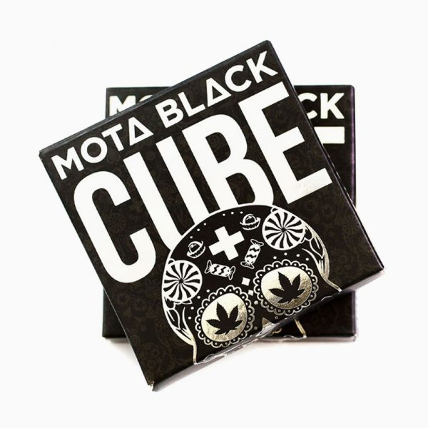 Mota Black Cube 600mg Milk Chocolate